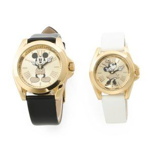DISNEY His And Hers Mickey & Minnie watches